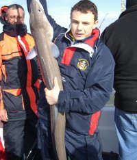 Conger Eel fishing in the Bristol Channel